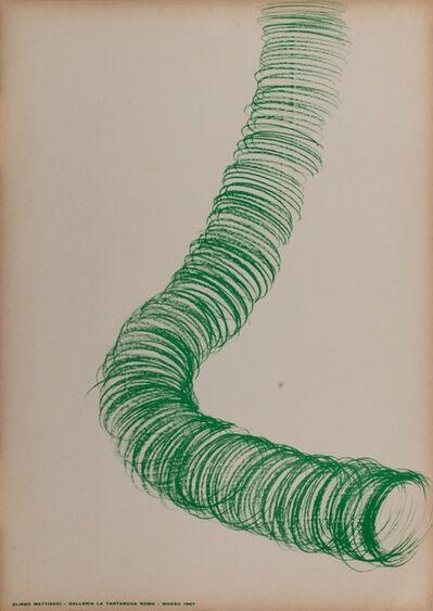 Eliseo Mattiacci, 'Solo exhibition', 1967