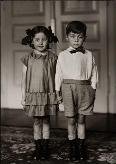 August Sander, 'Middle Class Children', 1925
