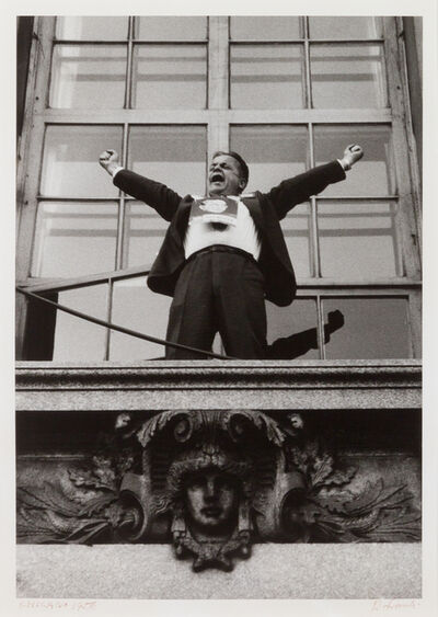 Robert Frank, 'Chicago (Political Rally)', 1956