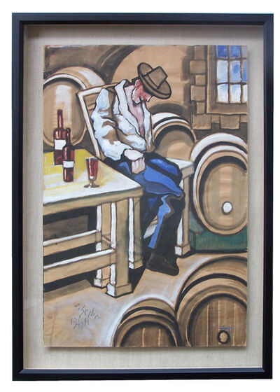 Hugó Scheiber, 'At the Winery', 1940