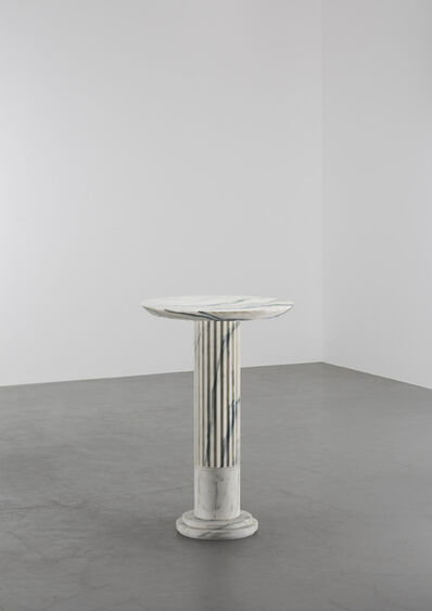 Karl Lagerfeld, 'Untitled VII (Side Table - H75 - Arabescato)', 2018