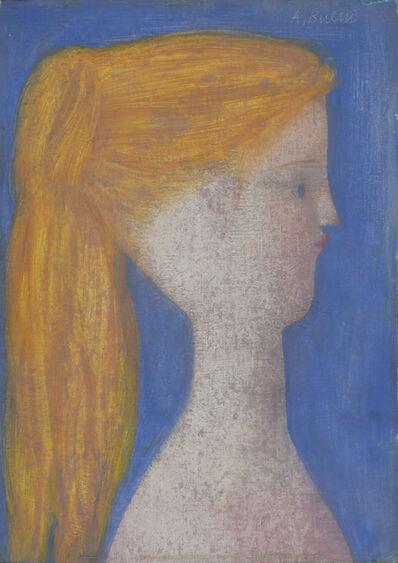 Antonio Bueno, 'Profilo azzurro', 1970