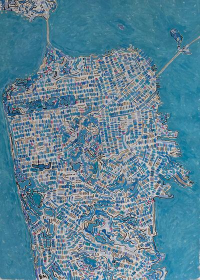 Barbara Macfarlane, 'San Francisco Blue Mist', 2020