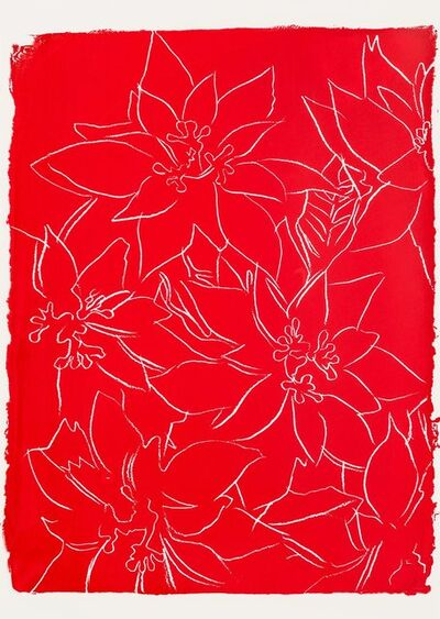 Andy Warhol, 'Poinsettia', 1983