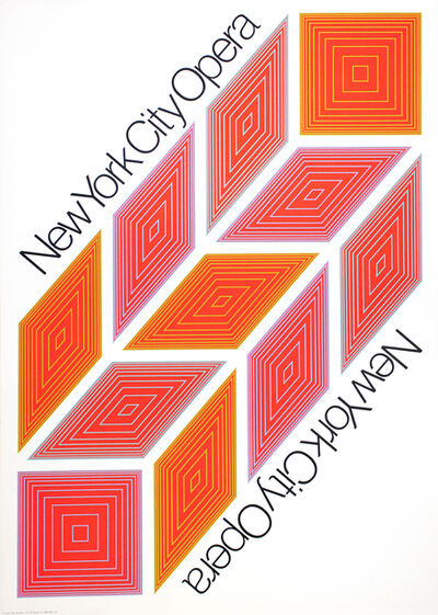 Richard Anuszkiewicz, 'New York City Opera', 1968