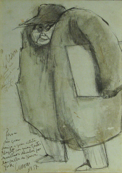 Jose Luis Cuevas, 'Sin Titulo', 1957