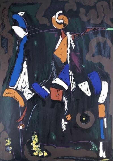 Marino Marini, 'BUNTER REITER II', 1976