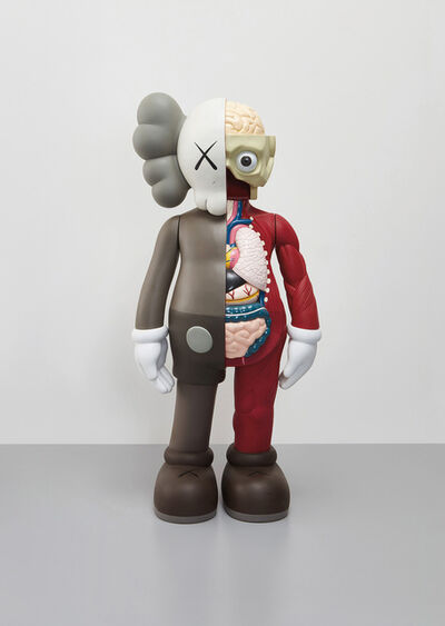 KAWS, 'Four Foot Dissected Companion (Brown)', 2009