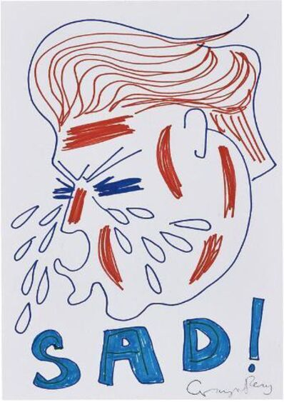 Grayson Perry, 'Untitled ( Sad Trump Drawing)', 2017