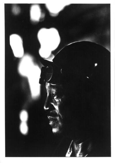W. Eugene Smith, 'Steel Worker, from Pittsburgh', 1955-1956