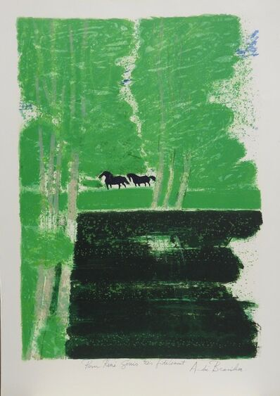 Andre Brasilier, 'Untitled', ca. 1988