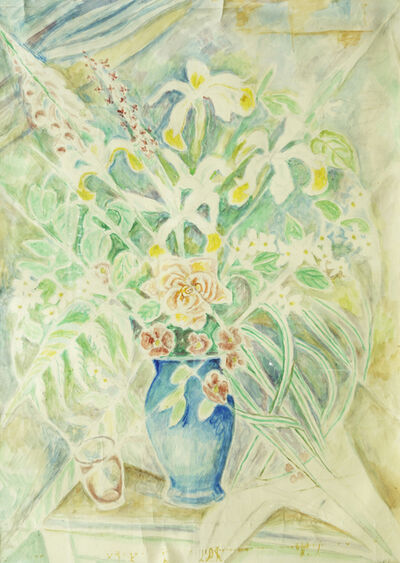 Marie Vorobieff Marevna, ''Flowers for Picasso, Vallauris'', 1957