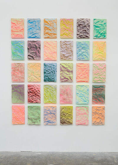 Rana Begum, 'No. 897 Folded Grid', 2019
