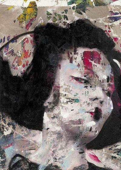 Lita Cabellut, 'Beso de primavera', 2020