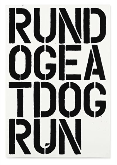 Christopher Wool, 'Untitled'