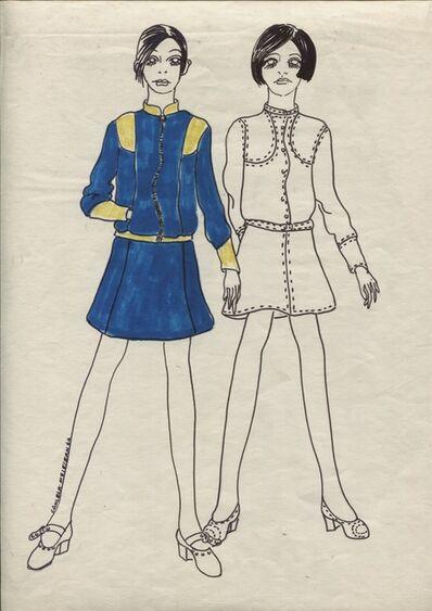 Delia Cancela, 'Dos chicas pelo negro', 1967