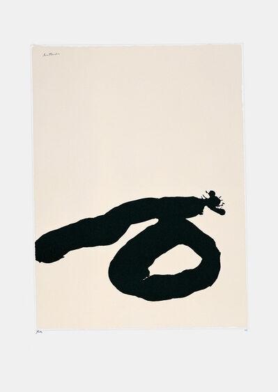 Robert Motherwell, 'Africa Suite No. 7', 1970