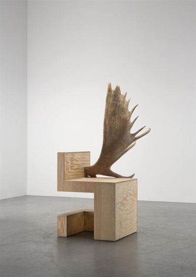 Rick Owens, 'Stag Chair Right (Natural Plywood)', 2007