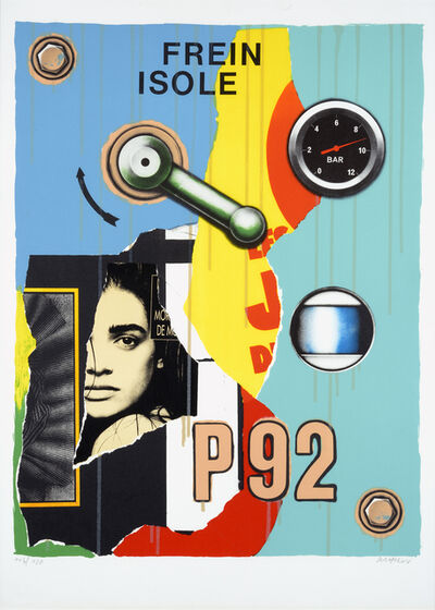 Peter Klasen, 'Frein Isolé- P92'