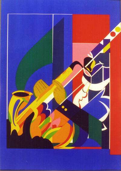 Romare Bearden, 'Alto Saxophone ', ca. 1982
