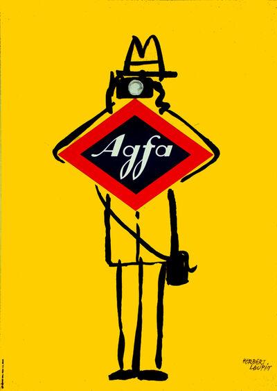 Herbert Leupin, 'Agfa Photography - Camera ', 1956