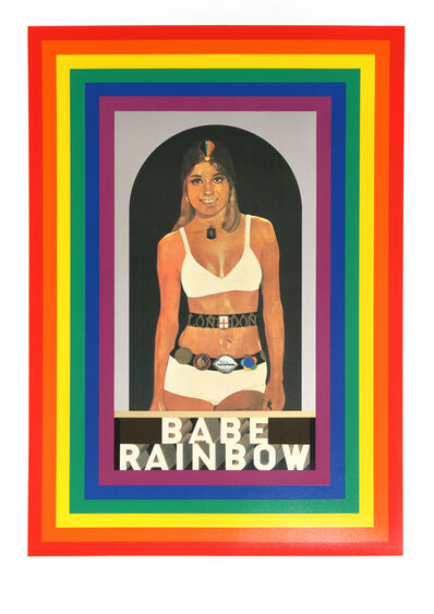 Peter Blake, 'R is for Rainbow', 1991