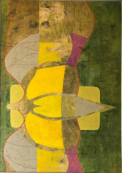 Jose Delgado Zuniga, 'Pajaro Erotico. Latin American Modernist Painting', 1970-1979