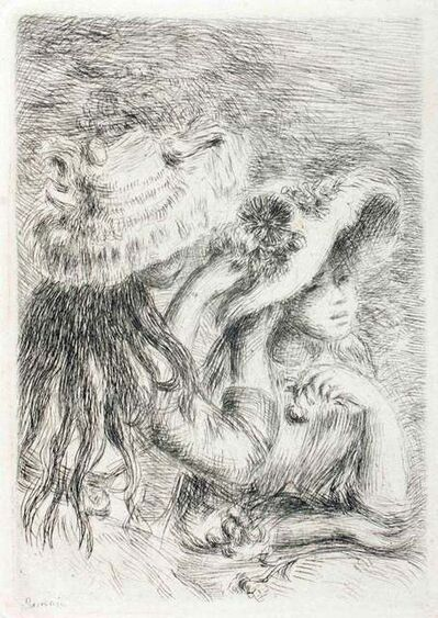 Pierre-Auguste Renoir, 'Le Chapeau épinglé (La fille de Berthe Morisot et sa cousine)', 1904