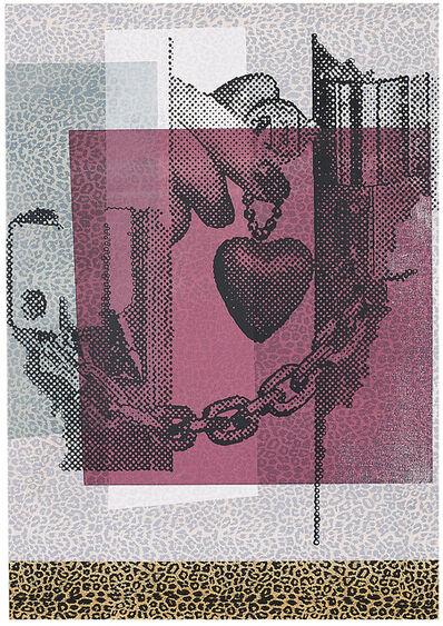 Sigmar Polke, 'S.H. -oder die Liebe zum Stoff ( S.H.-or the love of fabric )', 2000