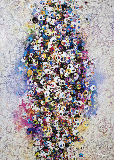 Takashi Murakami, 'Who Is Afraid of Red, Yellow and Blue & Death', 2010