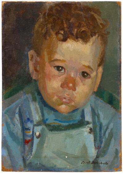 Cecil Birtwhistle, 'Portrait of a boy'