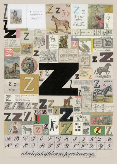 Peter Blake, 'The Letter Z', 2007
