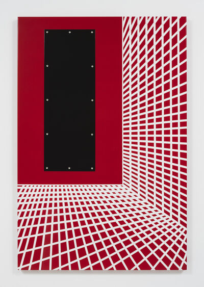 Joshua Saunders, 'Red and White Grid #2', 2016