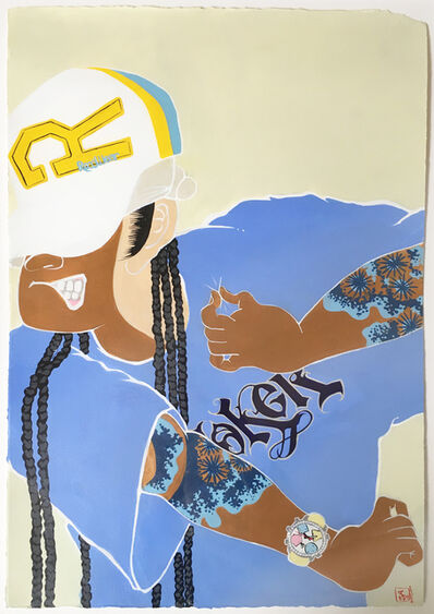 iROZEALb (Iona Rozeal Brown), 'A3 Blackface Blackbook #1', 2004