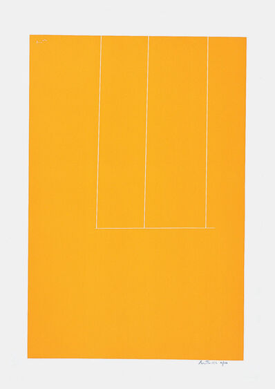 Robert Motherwell, 'London Series I: Untitled (Orange)', 1971