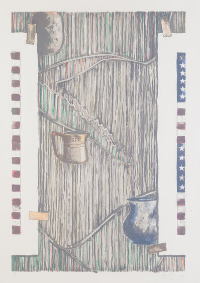 Jasper Johns, 'Ventriloquist', 1985