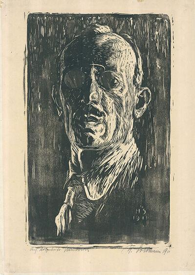Hans Soltmann, 'Selbstbildnis', 1911