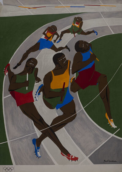 Jacob Lawrence, 'Untitled (Olympic Poster)', 1972