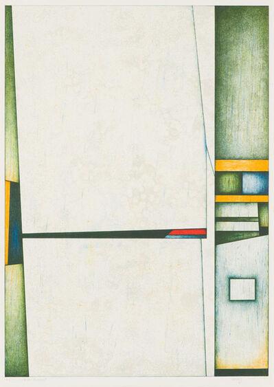 Gunther Gerzso, 'Muro Blanco', 1988