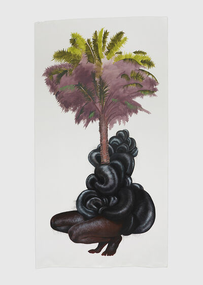 Firelei Báez, 'Years of holding your tongue', 2018