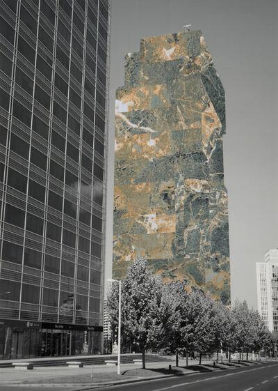 """Patrick Hamilton, '""""Proyecto arquitecturas revestidas para la ciudad de Santiago, Edificio #17  ', 2008"""