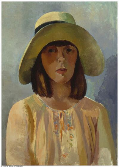 Willard Nash, 'Portrait of Edith with Hat'