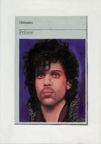 Hugh Mendes, 'Obituary: Prince', 2016