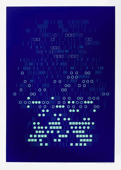"Aaron Marcus, '""Evolving Gravity II""', 1975"