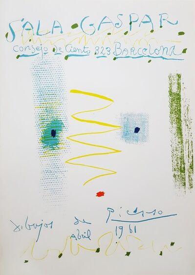 Pablo Picasso, 'Sala Gaspar: Dibujos de Picasso', 1961