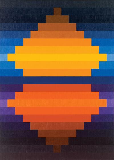 Karl Benjamin, '#10', 1982