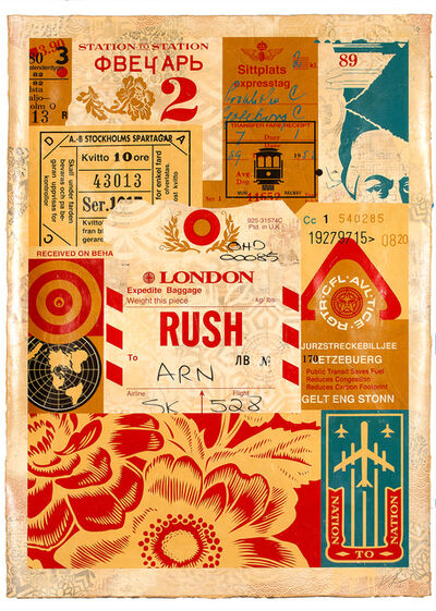 Shepard Fairey, 'Station to Station 4', 2012