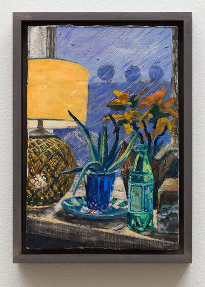 Christine Frerichs, 'Arie's aloe on Judy's Sappho plate', 2019