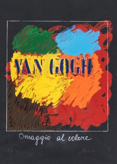 Tano Festa, 'Omaggio al colore', 1974