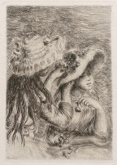 Pierre-Auguste Renoir, 'LE CHAPEAU EPINGLE', c. 1894